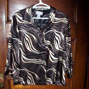 *** TAN JAY *** BRAND NEW~ NEVER WORN ~ Blouse 10